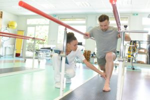 rehabilitation with physical therapy