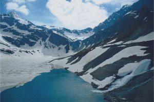 A piedmont glacier in Alaska.