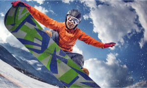 snowboard athlete